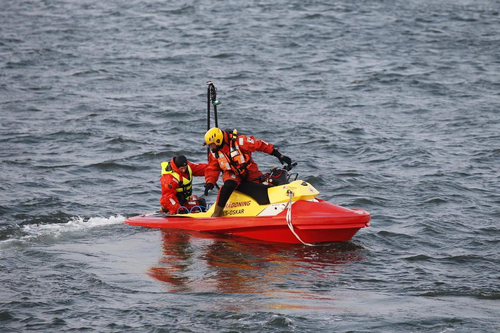 Sjöräddning + helikoptrar