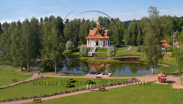 Thailändska paviljongen, Västanede, Västra Jämtland.