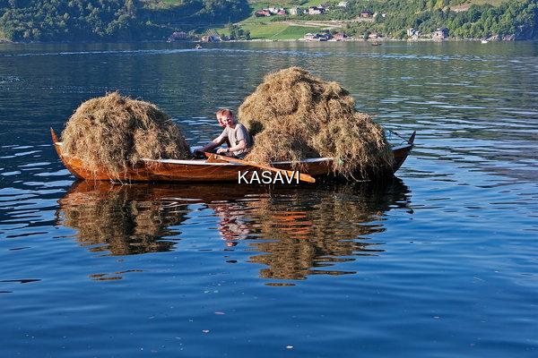 Høyfrakt med robåt