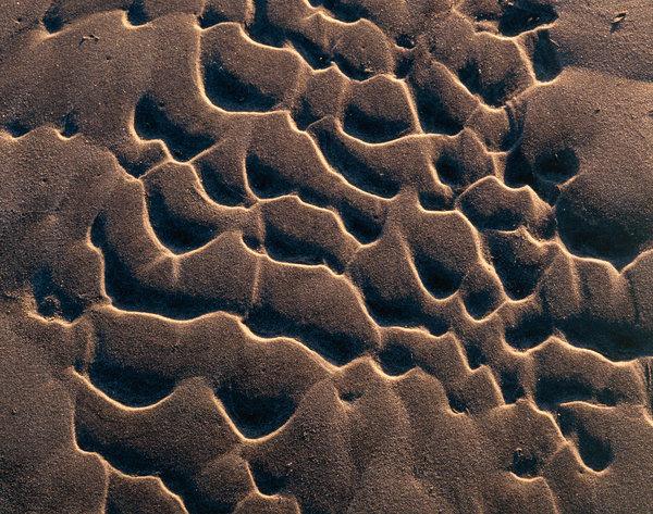 Sandformationer.