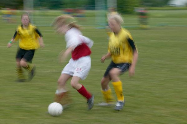 Fotbollspelare.