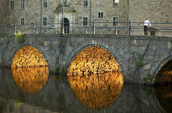 Kanslibron vid Örebro slott.
