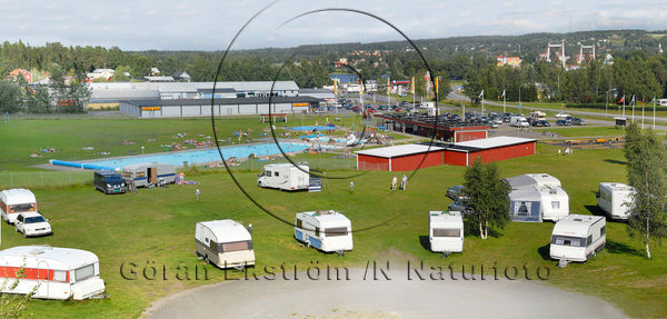 Campingen i Strömsund
