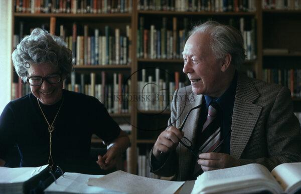 Disa Törngren och Alf Henrikson, 1981