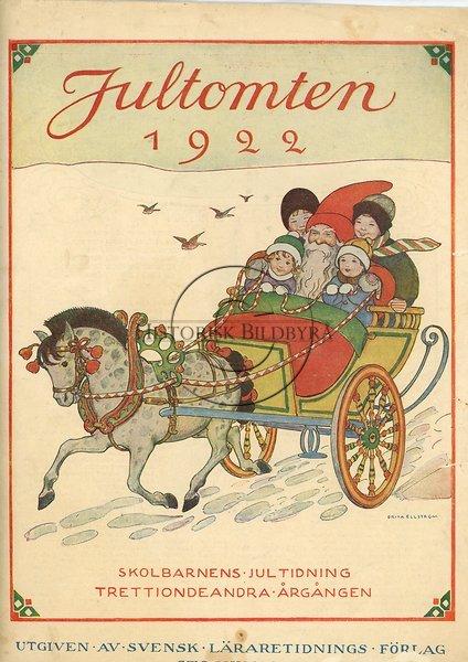 Jultomten år 1922