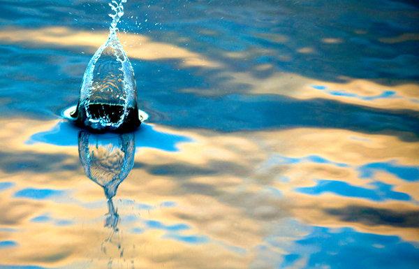 Vattenformationer.