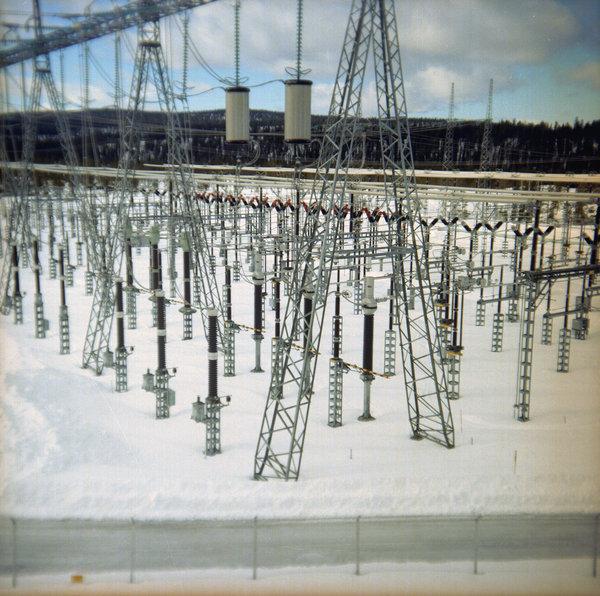 Harsprånget kraftstation.